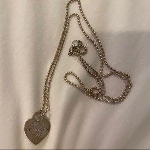 Tiffany & Co. Jewelry - Tiffany & Co Heart Tag Pendant